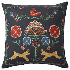 IKEA RENREPE Traditional Patterned Reversible Cushion Cover (50x50cm)
