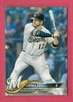 2018 Topps Series 2 Father's Day Powder Blue #438 Stephen Vogt serial 22/50