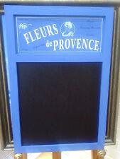 French Shabby Chic Fleurs de Provence Blue Kitchen Chalk Memo Board BNWT