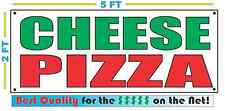 CHEESE PIZZA Banner Sign NEW Larger Size Best Quality for The $$$ Fair Food