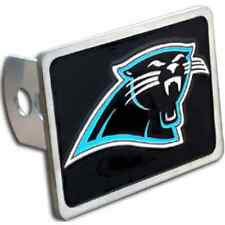 CAROLINA PANTHERS NFL Class II/III Pewter Trailer Hitch Cover