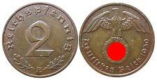 J362    2 Reichspfennig Dritte Reich  1939 E  502746