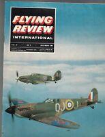 Flying Review International Magazine December 1964 Swiss Mirage India Marut