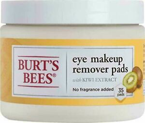 Burt's Bees Eye Makeup Remover Pads 35 Count KIWI extract - effective cleanser