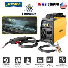 Flux Core Mig Welder Tig Arc Wire Gasgasless Welding Machine Inverter Welder