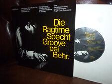 "Hans Jürgen Bock, Klaus Schulze, Die Ragtime Specht Groove, Behr Privat EP 7"""