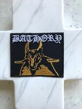 Bathory Batlord Heavy Metal Emo Punk Hardcore Grunge Music Iron On Patches Patch
