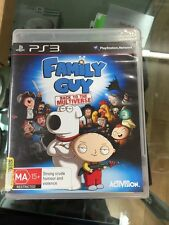 Family guy back to the multiverse PS3
