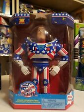 Buzz Lightyear  Stars And Stripes Talking Action Figure New