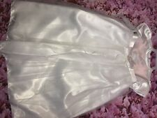 Christening Gown Ivory Netting Sparkly 6-12 Months