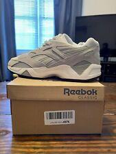 Reebok Aztrek 96 DV6876 Athletic Shoe Men's Sz 11.5 Skull Grey/White Preowned