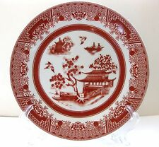 """EUC EMERALD """"RED WILLOW"""" DINNER PLATE  10 5/8 INCHES"""