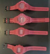 CASIO G SHOCK DW-5635C-4 RED OUT 35TH ANNIVERSARY LIMITED EDITION All four