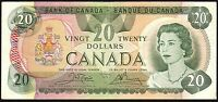 1979 Canada $20 Dollars Banknote * 56437642994 * aVF * P-93b *