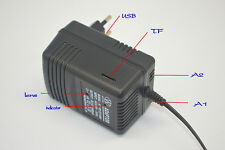AC Wall Adapter WIFI IP Motion Detection Hidden Spy Camera DVR HD 1080P