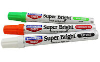 NEW! Birchwood Casey Super Bright Pen Kit, Green/Red/White 15116