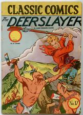 Classics Comics #17 HRN22 (E3, Queens City Times)  VG- 3.5  The Deerslayer