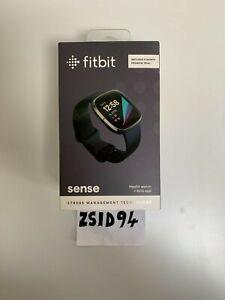 Fitbit Sense Smart Watch - Carbon/Graphite - ECG & SP02 + extras