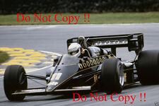 Elio De Angelis JPS Lotus 95T British Grand Prix 1984 Photograph 1