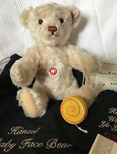 2006 Steiff 668500 - Ltd Edition 310/1500 - Hansel The Baby Faced Bear w/ Yo-Yo