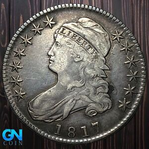 1817 Capped Bust Half Dollar  --  MAKE US AN OFFER!  #K6407