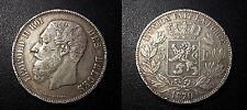 Belgique - Leopold II - 5 francs 1870 - KM#24