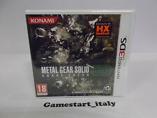 METAL GEAR SOLID SNAKE EATER 3D - NINTENDO 3DS - NUOVO NEW - VERSIONE ITALIANA