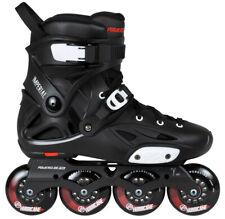 Powerslide FSK Imperial one 80 Black Crimson Free Urban Inline Skates schwarz