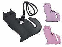 Anxiety Autism Sensory Necklace Pendant silicone (was teething) jewellery cat