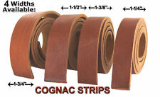 NATURAL BULLHIDE  LEATHER STRIPS, 49