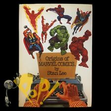 ORIGINS of MARVEL COMICS by STAN LEE Fireside HARDCOVER Rare 1974 HC 1st Edition
