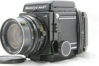 [ NEAR MINT ]  Mamiya RB67 Pro S+ Sekor NB 65mm F4.5 +120 Film Back from Japan