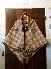 Scialle/Mantella/fiori/uncinetto/crochet/fatto a mano/coprispalle/Festa Mamma