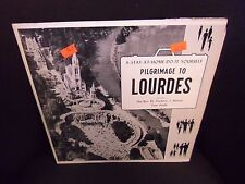 """Frederic J Nelson Pilgrimage To Lourdes 10"""" LP Marycord VG+"""