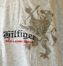 19096 HILFIGER Herren kurzarm T-Shirt Rundhals CN LONG KNIT uni black iris blau