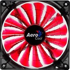 AEROCOOL A1425H12 - SHARK FAN - 12 CM RED EDITION - LIGHT - VENTOLA DESKTOP