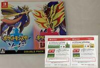 Pokemon Sword Shield Double Pack Nintendo Switch software game Japan