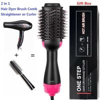 2 IN 1 MULTIFUNCTIONAL HAIR DRYER & HAIR BRUSH ROLLER COMB