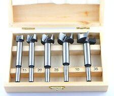 Forstnerbohrer Satz Holzbohrer Set 5-tlg. 15 - 35 mm
