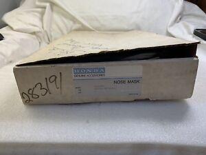 NOS Genuine OEM 1986-89 Honda Accord Nose Mask 08706-SE3A0AH DIRECT FIT