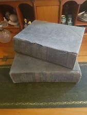 Standard Dictionary of the English Language 1914 Waverley Book Co Two Volumes