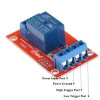 5Pcs 3V 1 Channel High / Low Level Trigger Relay Board Module for