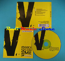 CD Singolo VASCO ROSSI Gioca Con Me remix 50999 235318 2 6 no mc vhs lp(S21)