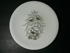 """Wedgwood Partridge in a Pear Tree 9"""" Luncheon Christmas Plate"""