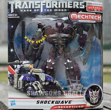 TRANSFORMERS MOVIE 3 DARK OF THE MOON VOYAGER CLASS SHOCKWAVE ACTION FIGURE