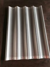 Lot Of FIVE 4 Loaf Baguette/French Bread Pan Aluminum Commercial Grade18WX26LX1H