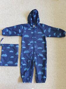 Baby Boden Puddle Suit/Splash Suit/ Rain Suit Unisex Age 18-24 Months