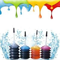 4PCs Universal Color Ink Cartridge Refill Kit 30ml for HP Canon Series Printers