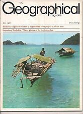 the geographical magazine-JUNE 1970-WATER GIPSIES OF THE ANDAMAN SEA.