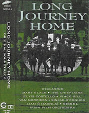 Various ‎Long Journey Home CASSETTE ALBUM Chieftains Morrison Mary Black Costell